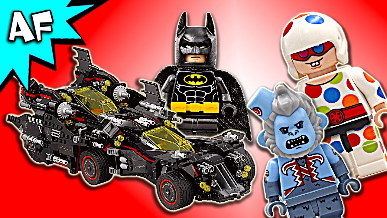 Build Movie Ultimate 70917 Speed Lego Batman Batmobile Youtube roeBdxC