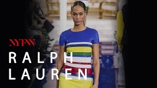 RALPH LAUREN en New York Fashion Week PRIMAVERA-VERANO 2018-2019