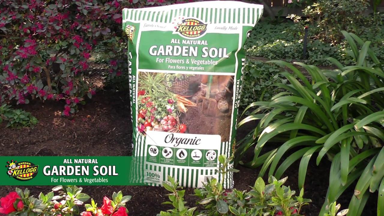 Kellogg garden organics all natural garden soil for - Nature s care organic garden soil ...