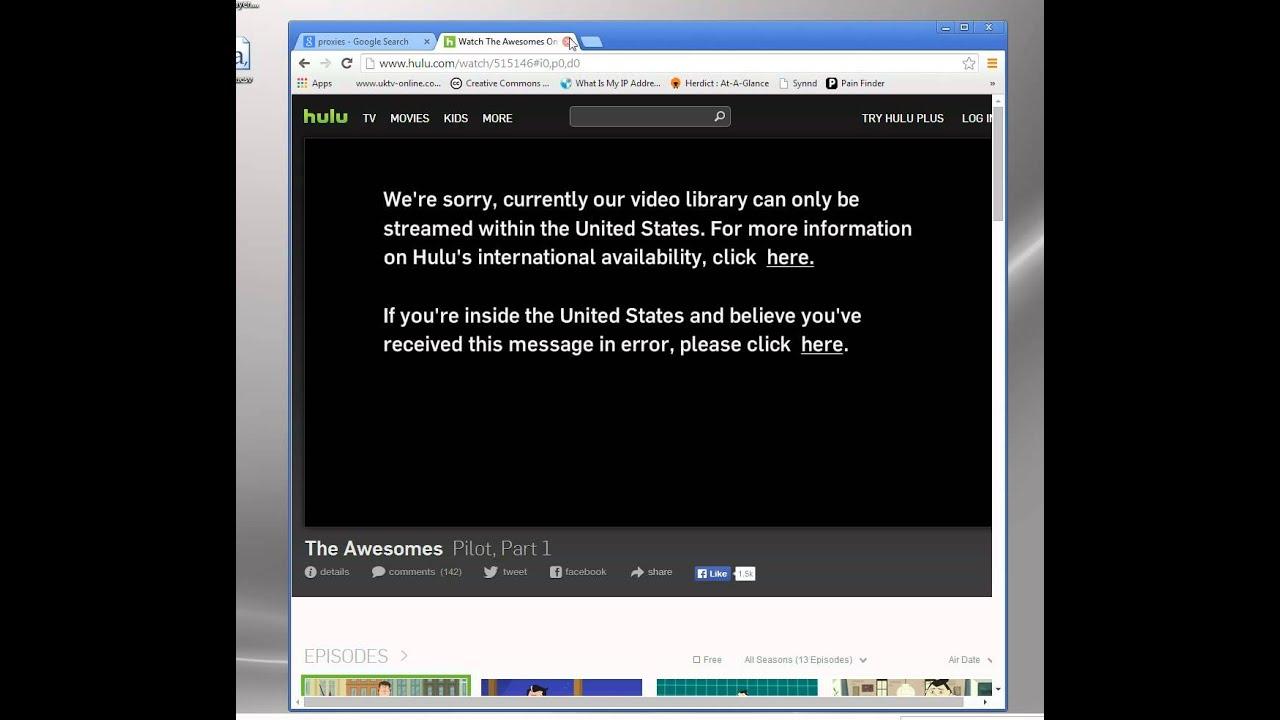 Gratis Proxy Video Unblocker