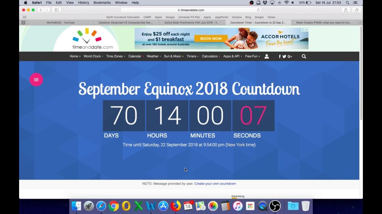 Flat Earth - Equinox Challenge September 2018 - A Nikon P1000 to the winner