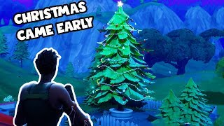 Christmas Came Early - LOCATIONS WITH 3 CHESTS! - Fortnite Tips #2 - Fortnite Battle Royale