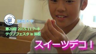 テクノでスイーツデコ! テクノフェスタ in 浜松2015.11 - 静岡大学