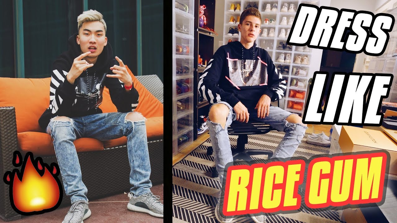 how to dress like ricegum youtube