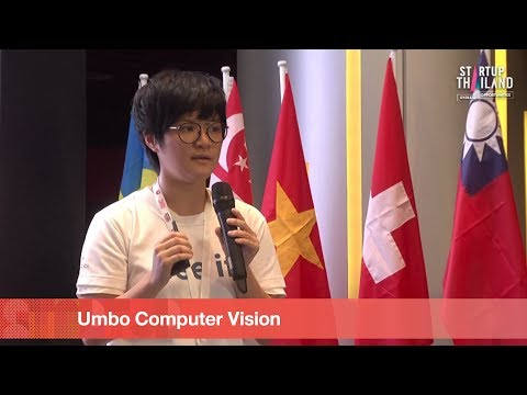 Pitching Stage Umbo Computer Vision STARTUP Thailand 2018 Day1