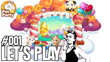 Let's Play Browsergames - Pet Party #001 - FettPet Party [Full-HD Gameplay] [Deutsch]