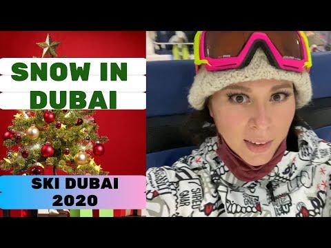Christmas in wonderland ski Dubai 2020.( Mall of the Emirates)