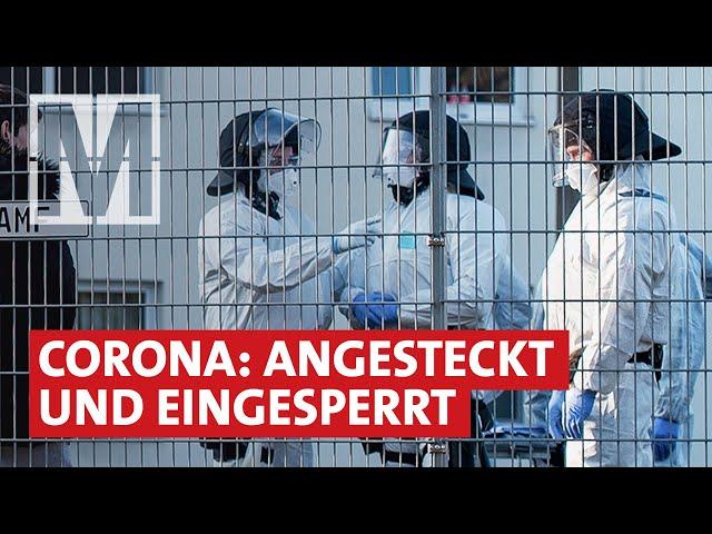 Eingesperrt und ausgeliefert: Corona in Flüchtlingsunterkünften - MONITOR