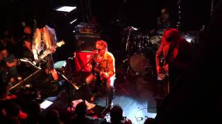 The Mission - Everything But The Squeal (new song) - 12/4/13, Thekla, Bristol