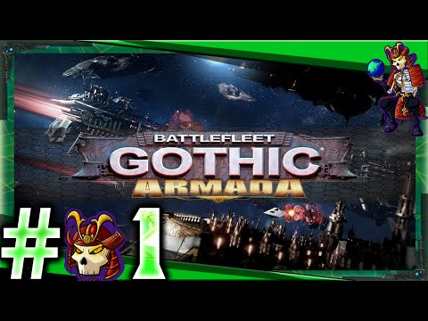 Battlefleet Gothic Armada Let's Play / Gameplay | The Prologue | #01 |