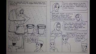 Cara Menggambar Komik Tema Pendidikan dengan Judul Belajar