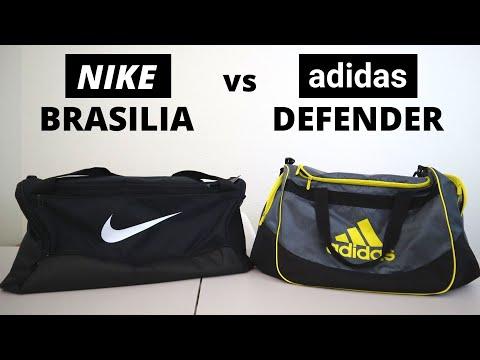 Best Gym Duffel Bag? Nike Brasilia Duffel Bag Review and Comparison vs Adidas Defender Duffel Bag