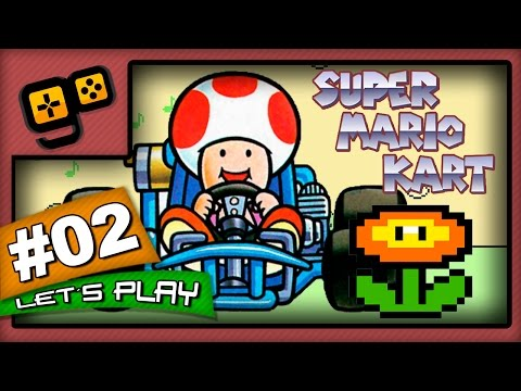 Let's Play: Super Mario Kart - Parte 2 - Flower Cup