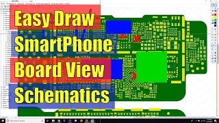 Easy Draw Smartphone Board View Schematics - Review