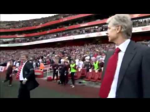 Kenny Dalglish Swears at Arsene Wenger