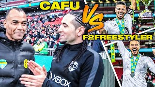 MY WEMBLEY CUP vs F2 freestyler/ Feat Cafu Legend Brazil