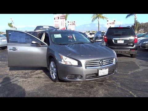 2014 Nissan Maxima San Bernardino, Fontana, Riverside, Palm Springs, Inland Empire, CA 35130A