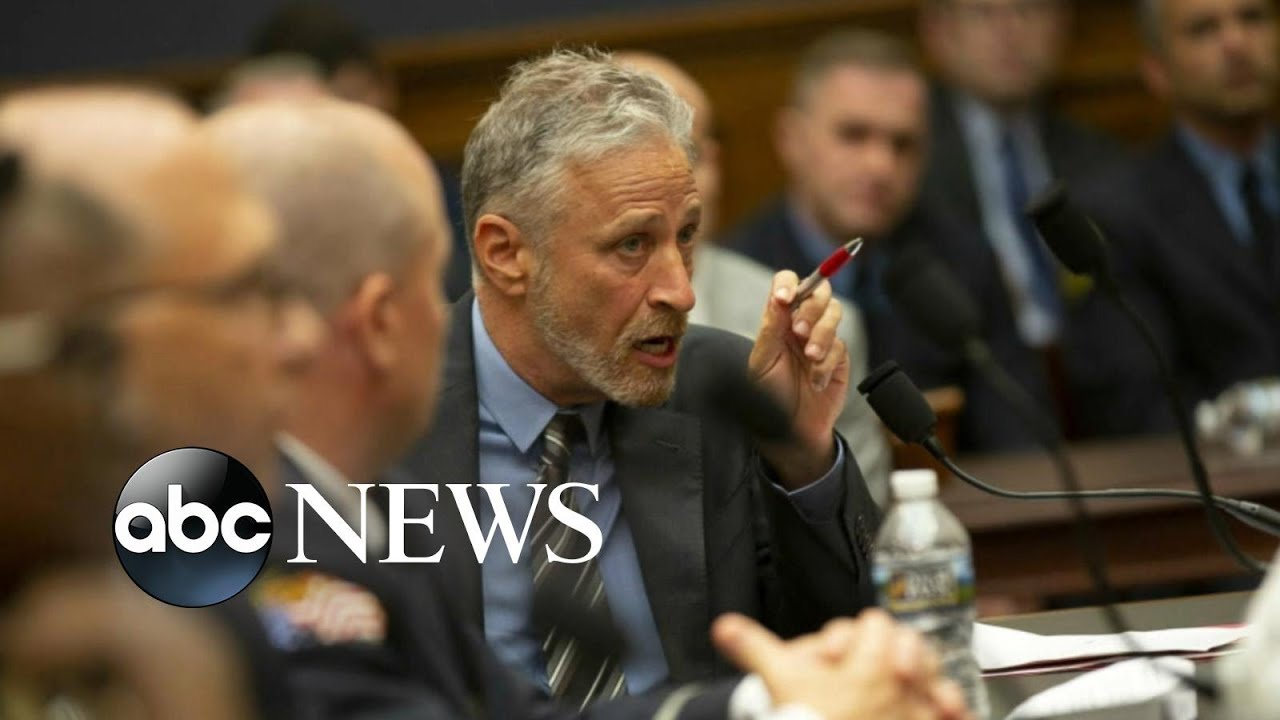 ABC News:Jon Stewart rips into Congress over 9/11 support