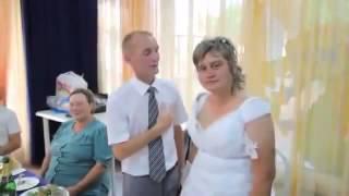 Невеста напилась и вытворяет  Приколы на свадьбе!