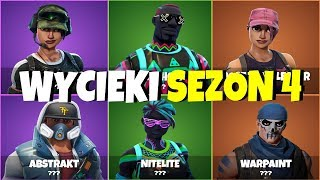 NOUVEAU FORTNITE SKINS LEAKS SEASON 4