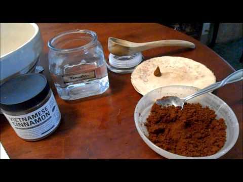 Simple Cinnamon Incense Cones