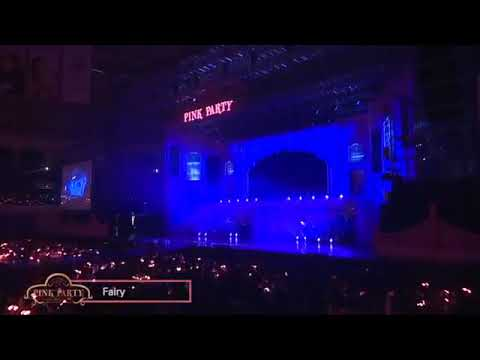 Apink 3rd Concert Pink Party - Fairy + 신기하죠 (A Wonderful Love) + Ding Dong + Step