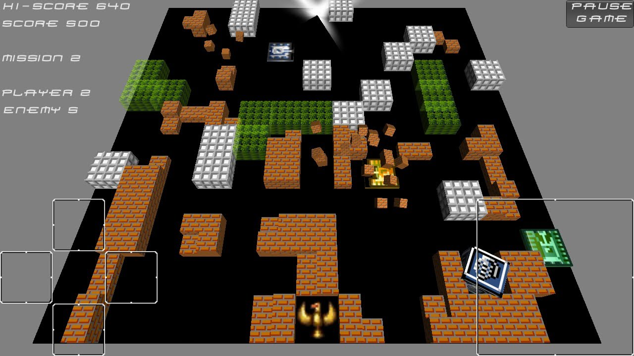Download & Play game Tank 1990 | Battle City Nitendo nes on pc