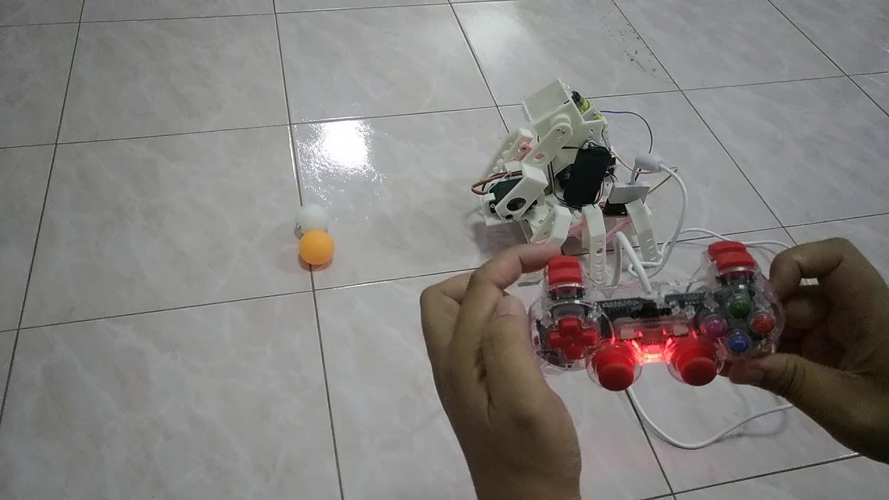 หุ่นยนต์นักบาสเกตบอล ลองยิงลูกปิงปองดูสิ