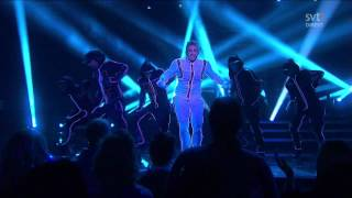 Danny Saucedo - Amazing - Second Performance (Melodifestivalen 2012 Deltävling 4) 720p HD