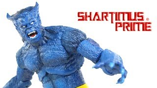 Marvel Select Beast Diamond Select Toys X Men Comics Action Figure Toy Review