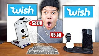 I Bought All The iPhone 11 Pro GADGETS on Wish... (under $100)
