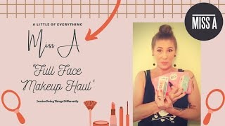 """Miss A """"Full Face make-up"""" Haul"""