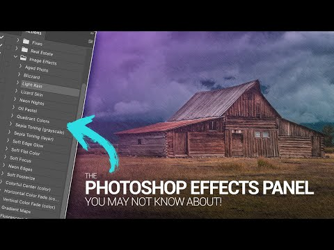 The Photoshop Effects Panel You May Not Know About