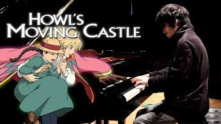 Howl's Moving Castle - Main Theme Piano Solo | Leiki Ueda // arr. Kyle Landry ハウルの動く城