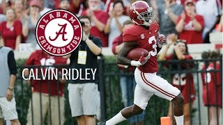 "Calvin Ridley || ""Alabama's Great Wide Receiver"" 