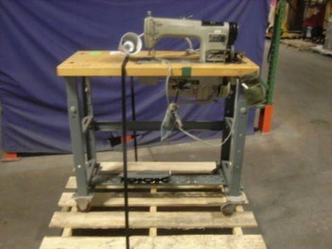 Consew Mdl 40RH40 Industrial Sewing Machine On GovLiquidation New Consew 230 Sewing Machine
