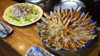 【餃子70個!】メッチャいっぱい料理作るぞ!【70 dumplings!】I will cook a lot of dishes!
