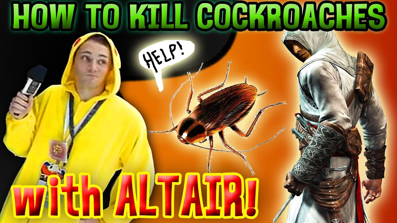 how to kill cockroaches outside