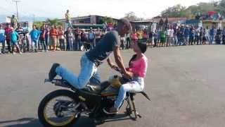 piruetas de moto en cocorote yaracuy