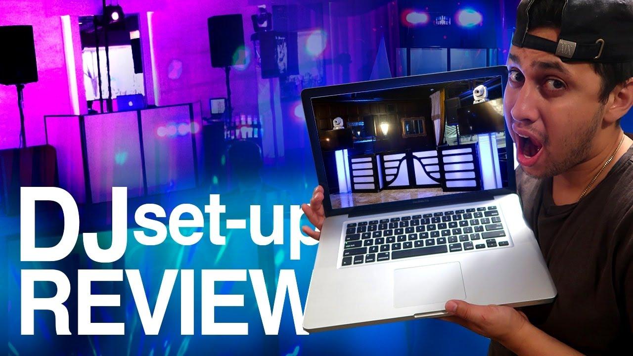 dj setup review mobile dj set up ideas and gear youtube. Black Bedroom Furniture Sets. Home Design Ideas