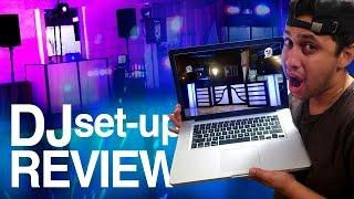 Dj setup review | mobile dj set-up ideas and gear!