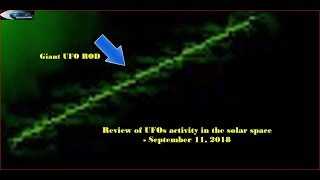 Review of UFOs activity in the solar space - September 11, 2018 (OVNI НЛО)