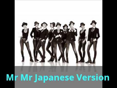 SNSD -Mr Mr Japanese Ver