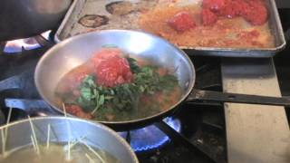 Pomodoro Sauce With Angel Hair Pasta Dinner Recipe Made With Fresh Tomatoes And Basil