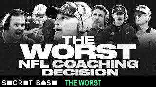 The worst NFL coaching decision was so bad, a turnover would've been better