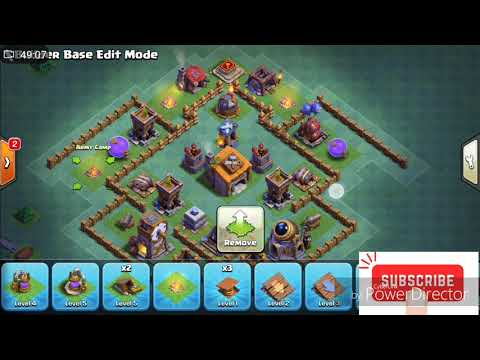 Best builder hall 6 base | undeafeated base anti air attack
