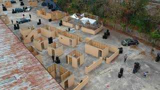 Power Ops Airsoft Field DRONE Aerial View (1/5)