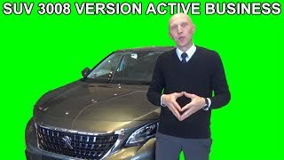 Les tutos de Berbi : SUV Peugeot 3008 version Active Business