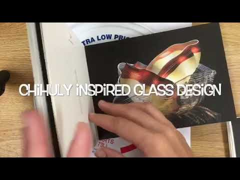 Chihuly glass design