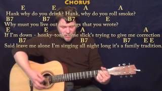 Family Tradition - Strum Guitar Cover Lesson with Chords/Lyrics